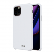 SiGN SiGN Liquid Silicone Case for iPhone 11 Pro Max - Hvit