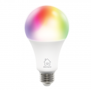 DELTACO Deltaco Smart Home RGB LED-lampe E27, WiFI Dimmbar - Hvit