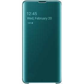 Samsung Samsung Clear View Cover for Samsung Galaxy S10 - Grønn (OUTLET-VARE)