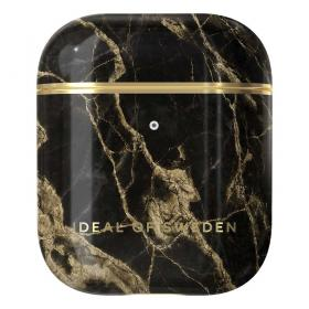 iDeal of Sweden iDeal Etui for Apple AirPods 1st & 2nd Gen - Golden Smoke Marb