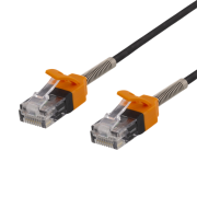 Deltaco gaming DELTACO GAMING Patchkabel 2m, Cat 6A - Svart