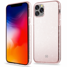 Celly Celly Sparkling Deksel for iPhone 11 - Rosa