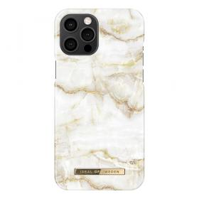 iDeal of Sweden iDeal Of Sweden Fashion iPhone 12 Pro Max Deksel - Golden Pearl Marble