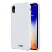 SiGN SiGN Liquid Silicone Case for iPhone X & XS - Hvit