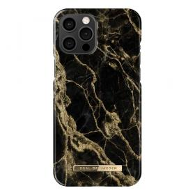 iDeal of Sweden iDeal Of Sweden Fashion iPhone 12 Pro Max Deksel - Golden Smoke Marble