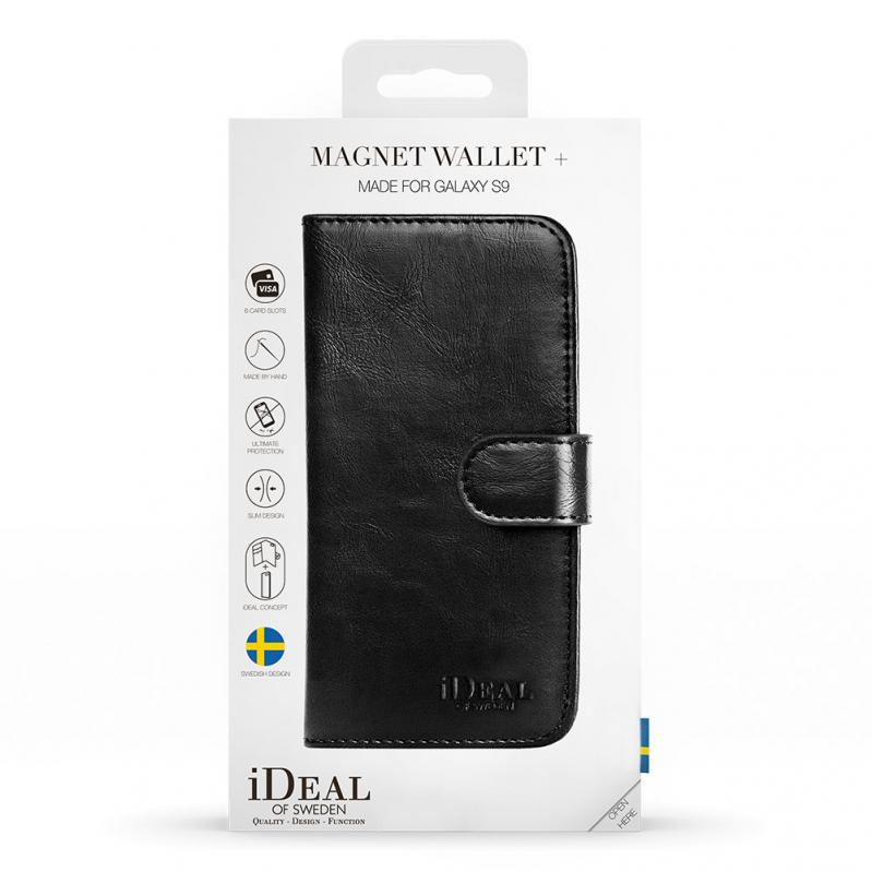 iDeal Magnet Wallet+ til Samsung Galaxy S9 — Svart