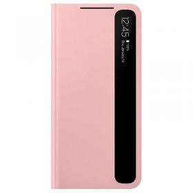 Samsung Samsung Clear View Cover for Samsung Galaxy S21 Plus 5G - Rosa