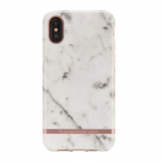 Richmond Richmond & Finch Deksel for iPhone XS Max - White Marble