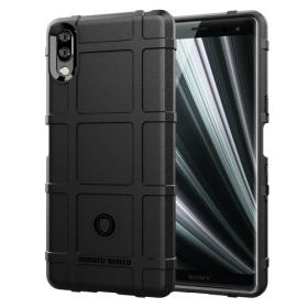 Taltech Rugged Square Grid Deksel for Sony Xperia L3 - Svart