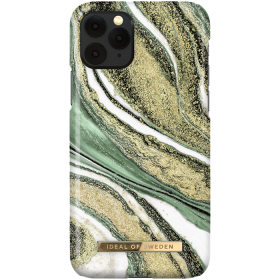 iDeal of Sweden iDeal Fashion Deksel for iPhone X/XS/11 Pro - Cosmic Green Swirl