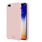SiGN SiGN Liquid Silicone Case for iPhone 7 & 8 Plus - Rosa