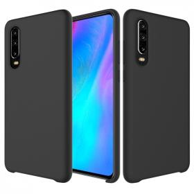 SiGN SiGN Liquid Silicone Deksel for Huawei P30 - Svart