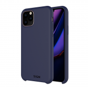 SiGN SiGN Liquid Silicone Case for iPhone 11 Pro Max - Blå