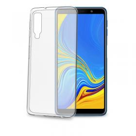 Celly Celly Gelskin Deksel for Samsung Galaxy A70 - Transparent