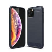 Taltech Deksel i Kulfiber-design for iPhone 11 Pro - Blå