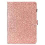 "Taltech Glitter Etui for iPad 9.7"" 2017-2018 og iPad Air-Air2 - Rose Gull"