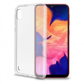 Celly Celly Gelskin Deksel for Samsung Galaxy A10 - Transparent
