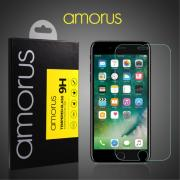 AMORUS skjermbeskytter av herdet glass til iPhone 8/7/6/6s Plus