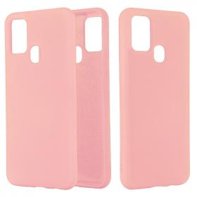 SiGN SiGN Liquid Silicone Deksel for Samsung Galaxy A21s - Rosa