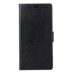 Taltech Crazy Horse Lommeboketui for Samsung Galaxy Xcover 4/4S - svart