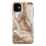 iDeal of Sweden iDeal Fashion Deksel for iPhone 11 - Golden Sand Marble