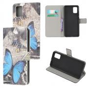 Taltech Lommeboketui for Samsung Galaxy A02s - Butterfly