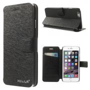 HOLILA Silkeetui til iPhone 5/5S/SE, Svart