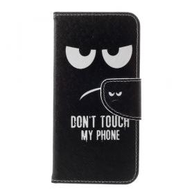 Taltech Lommeboketui for Samsung Galaxy S10e - Don't touch my phone