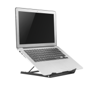 "DELTACO Deltaco Office Laptop stativ 10–15"" - Svart"