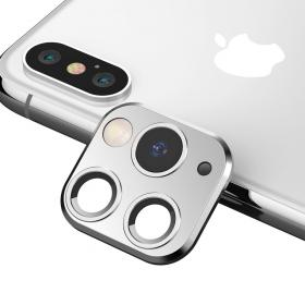 Taltech iPhone 11 Pro Max Look-alike Kameralinse for iPhone XS Max - Sølv