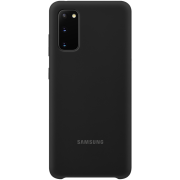 Samsung Samsung Silicone Cover for Samsung Galaxy S20 - Svart