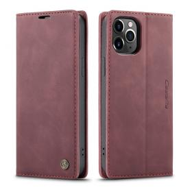 Taltech CASEME 013 Etui for iPhone 12 Pro Max - Wine Red