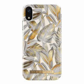 iDeal of Sweden iDeal Fashion Case for iPhone XR - Platinum Leaves