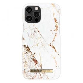 iDeal of Sweden iDeal Fashion Deksel for iPhone 12/12 Pro - Carrara Gold