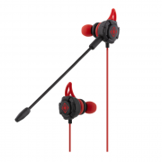 Deltaco gaming Deltaco Gaming Headset in-ear 30Hz - 16kHz - Svart-Rød