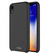 SiGN SiGN Liquid Silicone Case for iPhone XR - Svart