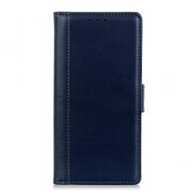 Taltech Smooth Wallet Etui for Samsung Galaxy Xcover 5 - Blå