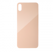 iPhone XS Batteriluke - Bakside Glass - Gull