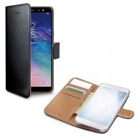 Celly Celly Wallet Lommeboketui for Samsung Galaxy A70 - Svart
