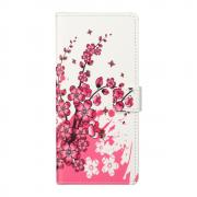 Taltech Lommeboketui for Samsung Galaxy S21 - Flowers