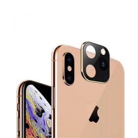 Taltech iPhone 11 Pro Look-alike Kameralinse for iPhone X/XS - Gull