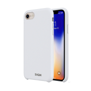 SiGN SiGN Liquid Silicone Case for iPhone 7 & 8 - Hvit
