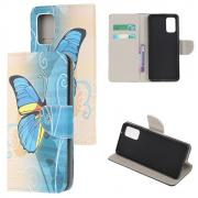 Taltech Lommeboketui for Samsung Galaxy Note 20 - Sommerfugl