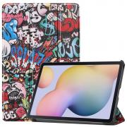 Taltech Etui for Samsung Galaxy Tab S7 - Graffiti