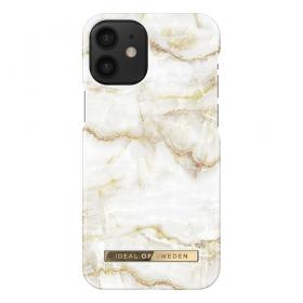 iDeal of Sweden IDeal Fashion iPhone 12 Mini deksel- Golden Pearl Marble
