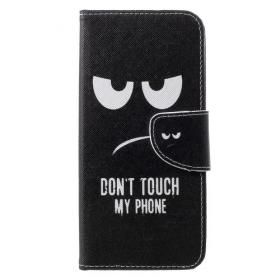 Taltech DO NOT TOUCH MY PHONE! Etui for Huawei Honor 10 Lite