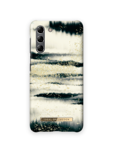 iDeal of Sweden iDeal Fashion Case for Samsung Galaxy S21 - Golden Tie Dye