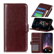 Taltech Crazy Horse Lommeboketui for Sony Xperia L4 - Brun