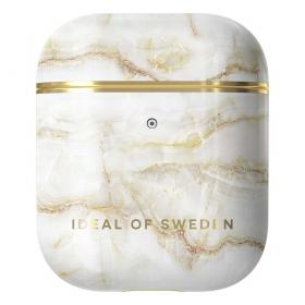 iDeal of Sweden iDeal Etui for Apple AirPods 1st & 2nd Gen - Golden Pearl Marb