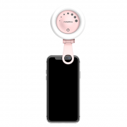 SiGN TikTok Selfie Lampe Ring - Rosa